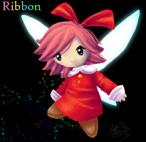 Miss Ribbon by morganchan