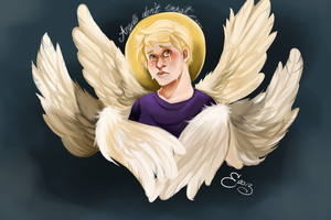 Angels Aren't Real by luddles