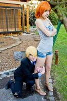 Nami And Sanji 3 by Inoshindashin
