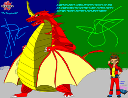 Bakugan - Fat Drago by SuperDigiFlow