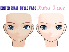 Kio Luka Face Male Style + DL by athousandyearsolo