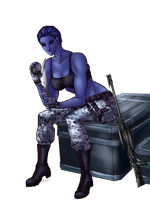 SWTOR: Chill'n Chiss by Evanyell