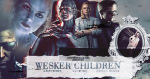 Ozwell E. Spencer and Wesker Children by AlbertXExcellaLover