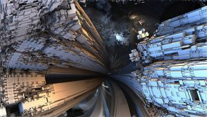 Worm Hole Effect by HalTenny