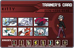 Kitty: Trainer Card by topazluck