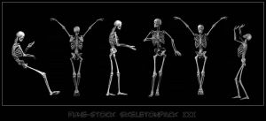 Skeletonpack3 by Fune-Stock
