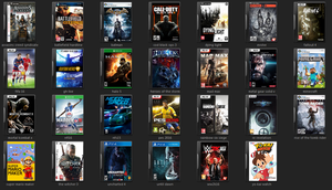 New DVD Icon pack - Softwares and Games Cover 2015 by Antowhite