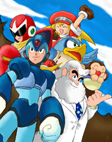 Megaman - Colored by ArchXAngel20