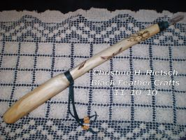 Pine Eagle Witches Wand by Black-Feather