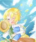 Warmer then Sun Flower by TreeLinedStreet