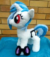 Vinyl Scratch Plush by Arualsti