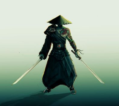Japanese Pirate Character Design by AgusZanetti