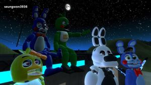 Watching Stars with Friends [GMod] by seungwon3936