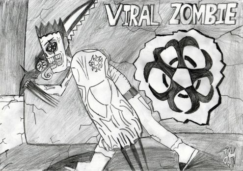 Level-5 Viral Zombie by OnlyWax