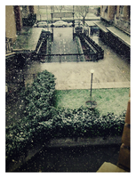 Snowy Morning in Rome by Goth-Virgy