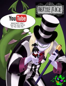 Youtube - Beetlejuice by Silent-Sid