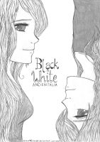 aph: Black and White (Ancientalia) 1 by LoveEmerald
