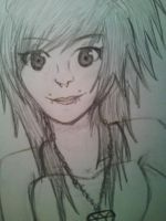 Scene Queen Close Up by milovedeathnote
