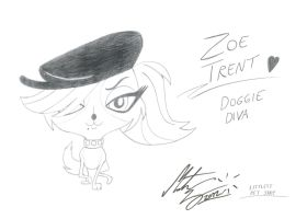 Littlest Pet Shop - Zoe Trent by MortenEng21