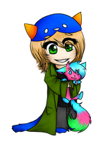 +CA+ cosplaying nepeta by ArtisticSorcerer