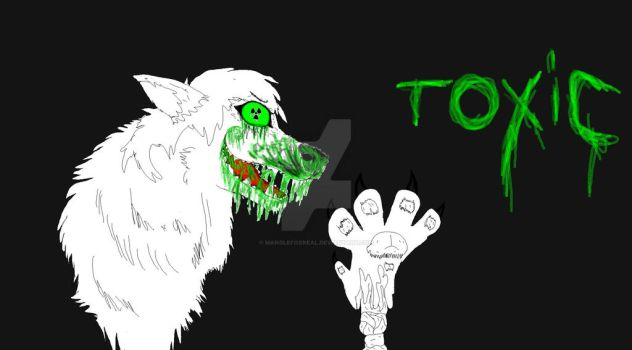 Toxic part 2 cover) by MangleFoxREAL