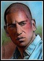 Walking Dead Shane by RandySiplon
