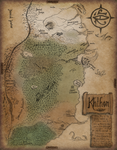Early Map of Khthon by Domnopalus