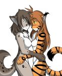 Flora and Kathrin Lezzing Out by Twokinds