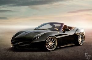 Ferrari California Black by jeandesigner