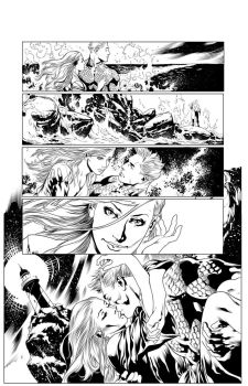 AQUAMAN #1 PAGE 19 by QueplerArts-Inker1