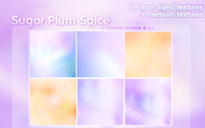 Texture Set: Sugar Plum Spice by mystical-touch