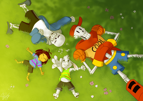 Undertale - Summer by TC-96