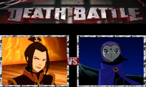 Azula vs. Raven by ScarecrowsMainFan