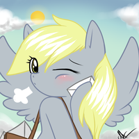 Dat Derpy c: by MagicalChan