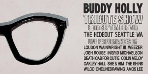 Buddy Holly Tribute Ticket by seaofdaves