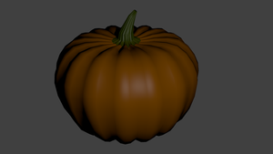 Pumpkin Model by Mikey-Spillers