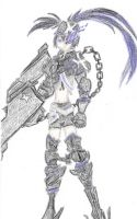 Insane Black Rock Shooter (fixed) by CDQ2691