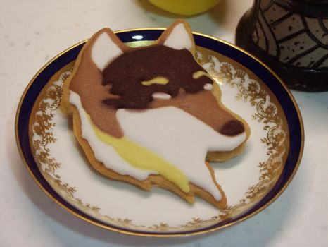 Wolf Cookie by ming