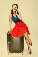 Pin-up actress Kristyna Leichtova by messtor