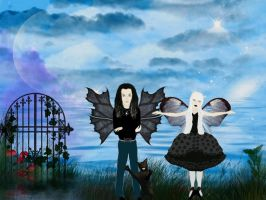 Bill and Kerli Strange by terrya7