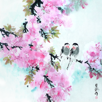 Chinese Traditional Flowers and Birds by TaoBishu