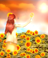 SunFlowers by BecPriestess