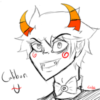 Troll Caliborn Sketch by Seokao