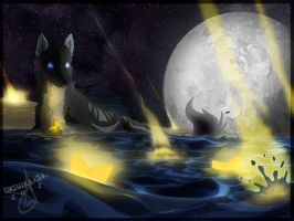 Falling Stars by Noxivaga