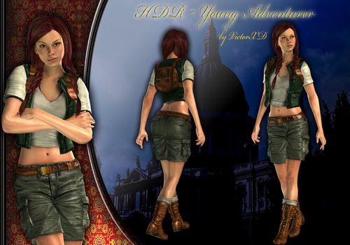{HDR} Series ~ Young Adventurer by ViCt0RXD