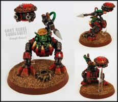Grot Rebel Squigsuit by Proiteus