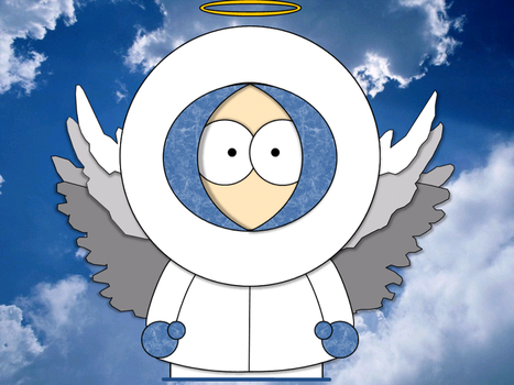 Kenny going to Heaven by 989fox989