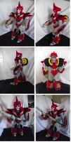 Transformers prime Knock out plush by netheryl