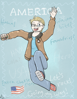 APH: America The Hero by Flutter-Butter