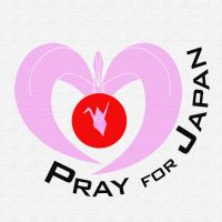 Pray for Japan - Pink by ayukat